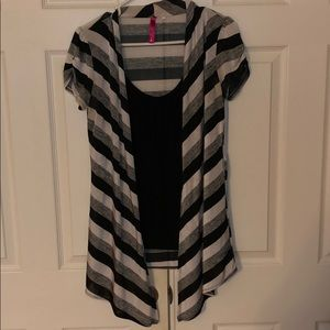 Attached 1/2 Blouse with Cover